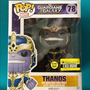 "Funko Pop! Marvel Thanos EE-GITD-6""-#78"
